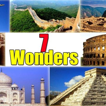A view of the wonders of the world