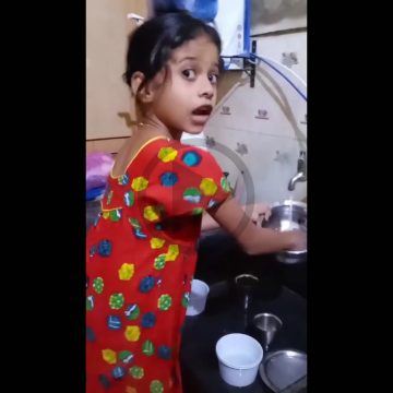 Cute video of the baby