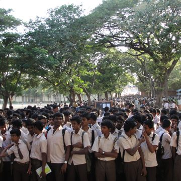 Admission for 11th class students started today